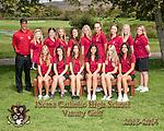 JSerra Catholic High School Women's Golf Team.