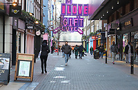London has now been placed under extremely high Tier 4 restrictions to prevent the spread of Covid-19, with indoor venues, non essential retail and clubs all closed and unable to trade there until at least the next review date of December 30th. London on December 19th 2020 <br /> <br /> Photo by Keith Mayhew