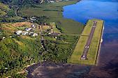 Piste d'atterrissage de Touho, côte Est de la Nouvelle-Calédonie