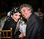 Liliane Montevecchi and Claudio Saponi attending 'Love n' Courage' - Theater for the New City Benefit at The National Arts Club on February 24, 2014 in New York City.