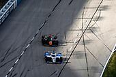 #15: Graham Rahal, Rahal Letterman Lanigan Racing Honda, #5: Pato O'Ward, Arrow McLaren SP Chevrolet