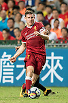 Liverpool FC midfielder James Milner in action during the Premier League Asia Trophy match between Liverpool FC and Leicester City FC at Hong Kong Stadium on 22 July 2017, in Hong Kong, China. Photo by Weixiang Lim / Power Sport Images