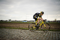 Pim Ligthart (NED/Direct Energie)<br /> <br /> 74th Nokere Koerse 2019 <br /> One day race from Deinze to Nokere / BEL (196km)<br /> <br /> ©kramon