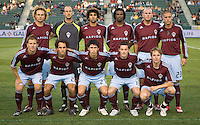 Colorado Rapids starting XI. The Colorado Rapids defeated the LA Galaxy 1-0 during the preliminary rounds of the 2008 US Open Cup at Home Depot Center stadium in Carson, Calif., on Tuesday, May 27, 2008.