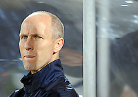 USA manager Bob Bradley. USA defeated Egypt 3-0 during the FIFA Confederations Cup at Royal Bafokeng Stadium in Rustenberg, South Africa on June 21, 2009.