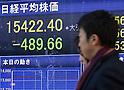 Tokyo Stock Exchange market on January 14, 2014