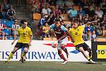Aston Villa vs West Ham United during the Main tournament of the HKFC Citi Soccer Sevens on 22 May 2016 in the Hong Kong Footbal Club, Hong Kong, China. Photo by Li Man Yuen / Power Sport Images
