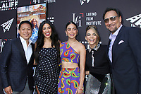 LOS ANGELES - JUN 4:  Jon M Chu, Stephanie Beatriz, Melissa Barrera, Leslie Grace, Jimmy Smits at the In The Heights Screening -  LALIFF at the TCL Chinese Theater on June 4, 2021 in Los Angeles, CA