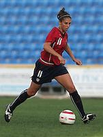 MAR 13, 2006: Faro, Portugal:  Carli Lloyd