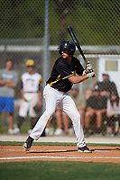 Brooks Lee during the WWBA World Championship at the Roger Dean Complex on October 19, 2018 in Jupiter, Florida.  Brooks Lee is a shortstop from San Luis Obispo, California who attends San Luis Obispo High School and is committed to Cal Poly.  (Mike Janes/Four Seam Images)