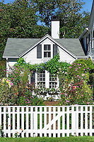Emily Post House and Garden, Edgartown, Massachusetts, USA