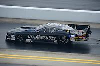 Apr. 15, 2012; Concord, NC, USA: NHRA pro mod driver Leah Pruett during the Four Wide Nationals at zMax Dragway. Mandatory Credit: Mark J. Rebilas-