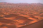 Dunes de l'erg Chebbi Grand sud marocain. Maroc