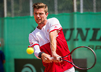 The Hague, Netherlands, 11 June, 2017, Tennis, Play-Offs Competition, Antal van der Duim, Egeria Alta<br /> Photo: Henk Koster/tennisimages.com
