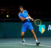 Rotterdam, The Netherlands, 9 Februari 2020, ABNAMRO World Tennis Tournament, Ahoy, Doubles: Jean-Julien Rojer (NED).<br /> Photo: www.tennisimages.com
