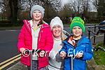 Enjoying a stroll in the Tralee town park on Saturday, Rachael, Hazel and Dara Prendergast