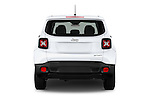Straight rear view of2017 JEEP Renegade Sport 5 Door Suv Rear View  stock images