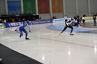 SPEEDSKATING: SALT LAKE CITY: Utah Olympic Oval, 10-03-2019, ISU World Cup Finals, 500m Men, Håvard Holmefjord Lorentzen (NOR), Tatsuya Shinhama (JPN), ©Martin de Jong