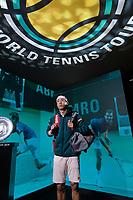 Rotterdam, The Netherlands, 14 Februari 2019, ABNAMRO World Tennis Tournament, Ahoy, quarter final, Kei Nishikori (JPN),<br /> Photo: www.tennisimages.com/Henk Koster