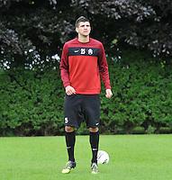 KV Kortrijk : Eerste training met Stefan Mitrovic..foto VDB / BART VANDENBROUCKE