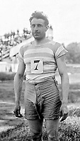 BNPS.co.uk (01202) 558833. <br /> Pic: Pen&Sword/BNPS<br /> <br /> Pictured: French 2x Olympic medalist Georges Andre was killed during the North Africa Campaign. <br /> <br /> The tragic stories of almost 500 Olympians who were killed during World War Two have been revealed in a new book.<br /> <br /> While this year's Tokyo Olympics competitors are producing extraordinary feats in the sporting arena, these fallen Olympians displayed heroism of a different kind.<br /> <br /> Dozens died carrying out acts of gallantry in major battles including D-Day, while almost 60 Jewish participants perished in concentration camps during the Holocaust.
