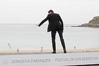 "Australian actor Hugh Jackman posses in the photocall of the ""Prisioners"" film presentation during the 61 San Sebastian Film Festival, in San Sebastian, Spain. September 27, 2013. (ALTERPHOTOS/Victor Blanco) <br /> San Sebastian Film Fest <br /> Foto Insidefoto"