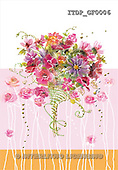 Simonetta, FLOWERS, paintings, ITDPGF0006,#F# Blumen, flores, illustrations, pinturas ,everyday