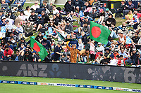 20th March 2021; Dunedin, New Zealand;  Fans and ANZ bank sponsor during the New Zealand Black Caps v Bangladesh International one day cricket match. University Oval, Dunedin.