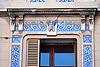 "Can Barceló, Plaza Josep Maria Quadrado, 9, (siglo XX) decorada con cerámicas policromadas de la antigua fábrica mallorquina ""La Roqueta"", firmada por Vicenç Llorenç<br /> Can Barceló, Plaza Josep Maria Quadrado, 9, (20th century) decorated with tiles of the antique mallorquean fabric ""La Roqueta"", designed by Vicenç Llorenç<br /> Can Barceló, Plaza Josep Maria Quadrado, 9, (20. Jh.) dekoriert mit Keramikkacheln der alten mallorquinischen Fabrik ""La Roqueta"", gestaltet von Vicenç Llorenç<br /> 3008x2000 px"