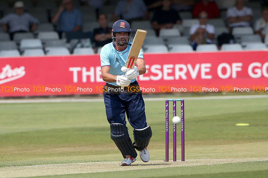 Sir Alastair Cook of Essex in batting action during Essex Eagles vs Cambridgeshire CCC, Domestic One-Day Cricket Match at The Cloudfm County Ground on 20th July 2021
