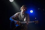 Justin Townes Earle performing at The Corner Hotel. Melbourne, 3 February 2013