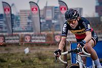 Belgian National Champion Sanne Cant (BEL/Iko-Crelan)<br /> <br /> 2020 Scheldecross Antwerp (BEL)<br /> <br /> ©kramon