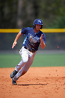 Tampa Bay Rays Grant Kay (50) during a minor league Spring Training game against the Boston Red Sox on March 23, 2016 at Charlotte Sports Park in Port Charlotte, Florida.  (Mike Janes/Four Seam Images)