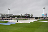 The conditions and outlook pretty grim at the Hampshire Bowl during India vs New Zealand, ICC World Test Championship Final Cricket at The Hampshire Bowl on 18th June 2021