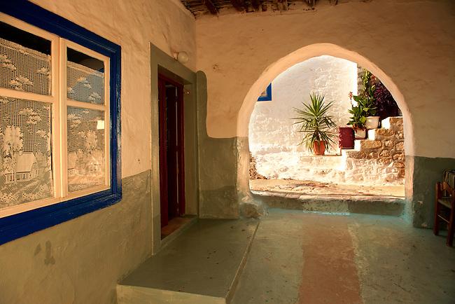 Narrow streets & houses of Hydra, Greek Saronic Islands