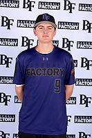 Jacob Wilson (9) of Murrieta Mesa High School in Menifee, California during the Baseball Factory All-America Pre-Season Tournament, powered by Under Armour, on January 12, 2018 at Sloan Park Complex in Mesa, Arizona.  (Mike Janes/Four Seam Images)