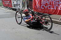 "Steven Arnold during the Abergavenny Festival of Cycling ""Para Grand Prix of Wales"" race on Sunday 17th 2016<br /> <br /> <br /> Jeff Thomas Photography -  www.jaypics.photoshelter.com - <br /> e-mail swansea1001@hotmail.co.uk -<br /> Mob: 07837 386244 -"