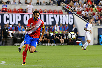 Harrison, NJ - Friday Sept. 01, 2017: Bryan Ruiz during a 2017 FIFA World Cup Qualifier between the United States (USA) and Costa Rica (CRC) at Red Bull Arena.