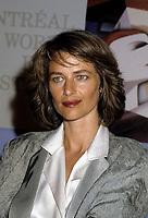 Charlotte Rampling<br /> au Festival des Films du Monde , le 26 aoit 1985<br /> <br /> PHOTO : Agence Quebec Presse