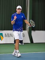 18-01-14,Netherlands, Rotterdam,  TC Victoria, Wildcard Tournament,    Alban Meuffels (NED) wins<br /> Photo: Henk Koster