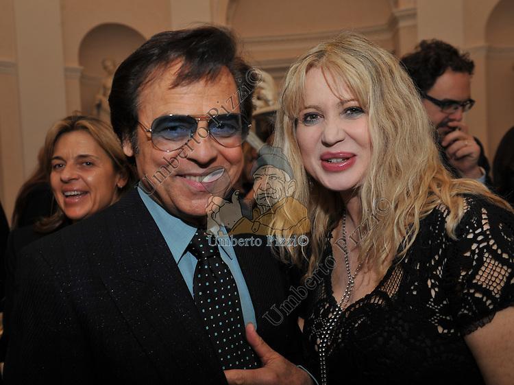 LITTLE TONY E VALERI LICASTRO<br /> FESTA DEGLI 80 ANNI DI MARTA MARZOTTO<br /> CASA CARRARO ROMA 2011
