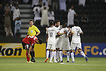 Al Sadd vs Locomotiv during the 2015 AFC Champions League Group C match on May 17, 2015 at the Jassim Bin Hamad Stadium in Doha, Qatar. Photo by Adnan Hajj / World Sport Group
