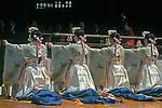 Haru Matsuri (Spring Festival) Dancers, Meiji Shrine, Tokyo, Japan