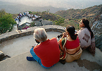 am Sunset Point, Mount Abu (Rajasthan), Indien