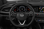 Car pictures of steering wheel view of a 2018 Opel Insignia Sports Tourer Dynamic 5 Door Wagon