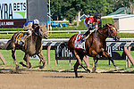 SARATOGA SPRINGS - AUGUST 27: A.P. Indian #11, ridden by Joe Bravo, wins the Priority One Jets Forego Stakes on Travers Stakes Day at Saratoga Race Course on August 27, 2016 in Saratoga Springs, New York. (Photo by Dan Heary/Eclipse Sportswire/Getty Images)