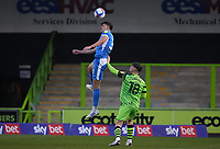 Patrick Brough of Barrow during the Sky Bet League 2 match between Forest Green Rovers and Barrow at The New Lawn, Nailsworth on Tuesday 27th April 2021. (Credit: Prime Media Images I MI News)