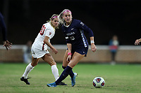 CHAPEL HILL, NC - NOVEMBER 29: Alessia Russo #19 of the University of North Carolina plays the ball during a game between University of Southern California and University of North Carolina at UNC Soccer and Lacrosse Stadium on November 29, 2019 in Chapel Hill, North Carolina.
