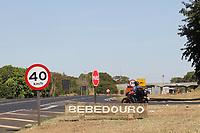 Bebedouro (SP), 20/05/2021 - Covid-SP - Barreira sanitária em Bebedouro. Bebedouro, interior de São Paulo, entra em confinamento a partir desta quinta-feira (20) até 0h de 30 de maio para tentar conter o avanço da Covid-19, embora o governo estadual tenha autorizado a prorrogação da fase de transição do Plano São Paulo até 15 de junho, com mais relaxamentos da quarentena a partir do dia 1º.