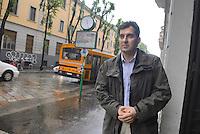 Mario Calabresi, journalist and son of the police officer Luigi Calabresi, killed in a terroristic attack in Milan the 17 May 1972....- Mario Calabresi, giornalista e figlio del commissario di polizia Luigi Calabresi, ucciso in un attacco terroristico a Milano il 17 maggio 1972